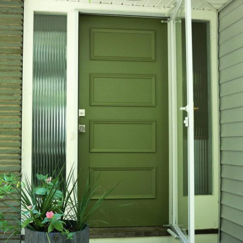 Exterior Wood Door Paint