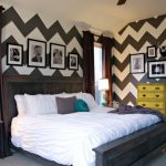 Fabtwigs Paint Chevron Stripes Wall Inspirations Tutorials Around