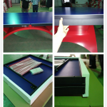 Famous Brand Big Rainbow Legs Table Tennis Indoor Ping Pong Paint