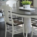 Farmhouse Style Painted Kitchen Table Chairs Makeover Rose