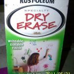 Father Sheep Dry Erase Paint Making Schooling Little