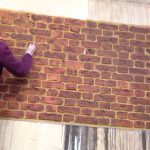 Faux Brick Painting