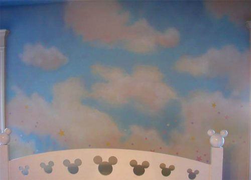 Faux Clouds Children Bedrooms