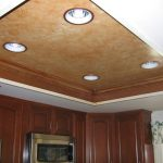Faux Finish Kitchen Ceiling