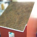 Faux Painted Dollhouse Shingles Five