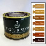 Fiddes Sons Soft Wax Clear Dark Can Chalk Paint