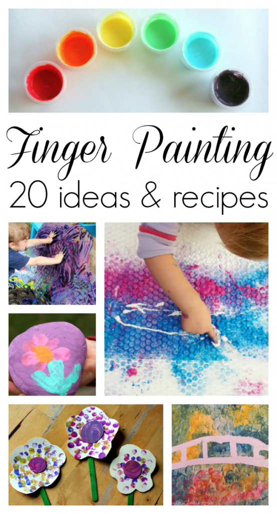 Finger Painting Ideas Wee