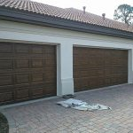 Finished Faux Painting Garage Door Everything Create Paint Doors Look Like