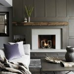 Fireplace Color Ideas Turn Dark Dreary Into Bright Modern