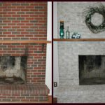 Fireplace Decorating Painting Brick Ideas