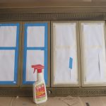 Fireplace Makeover Part Painting Brass Doors Tools Simply