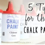 Five Tips Using Chalk Paint Peachfully