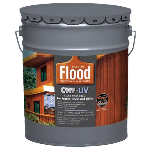 Flood Gal Clear Cwf Oil Based Exterior Wood Finish Fld Home