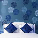 Floral Stamp Wall Stencil Pattern Royal Design Studio