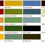 Frazee Paint Colors Chart