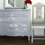 French Chair Makeover Paris Grey Girl