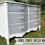French Country Dresser Makeover Diy Chalk