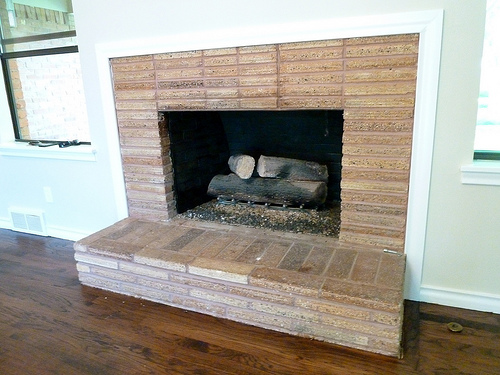 Freshen Inside Your Fireplace High Heat Paint Great