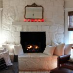 Friday Link Love Painted Stone Fireplace Most Lovely