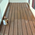 Front Porch Part New Paint Stain Sprucing Outdoors Spring