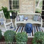 Front Porch Revamp Spray Paint Outdoor Furniture