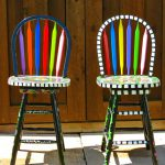 Funky Hand Painted Bar Stools Furniture Dot