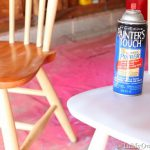 Furniture Makeover Spray Painting Wood Chairs Own