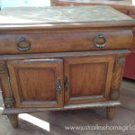 Furniture Makeover Using Valspar New Chalky Finish Paint