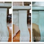 Furniture Wax Over White Paint
