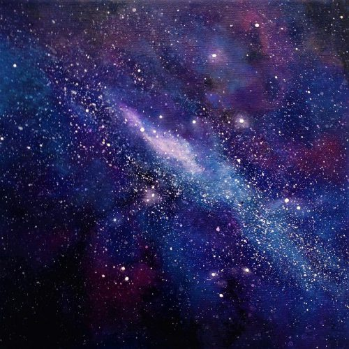 Galaxy Painting Ivy Stevens