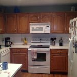 Gel Stain Cabinets Paint White