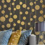 Get Alluring Accent Walls Stencils Paint