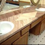 Give Laminate Countertop Faux Marble Finish