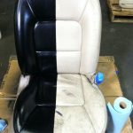 Give Your Worn Tired Car Seats Makeover Using Simply Spray Leather Cote Available