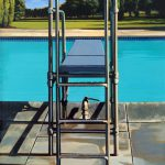 Glenn Ness Diving Board Painting Sale
