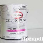 Glidden Ceiling Paint Review Not White