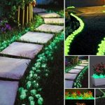 Glow Dark Rock Pathway Just Paint Rocks