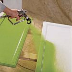 Good Action Spray Painting Kitchen Cabinets Soft