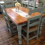 Gorgeous Kitchen Table Chair Set Transformed Aspirations Using Frenchic