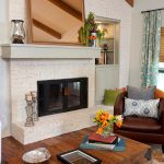 Gorgeous Painted Brick Fireplaces Hgtv Decorating Design