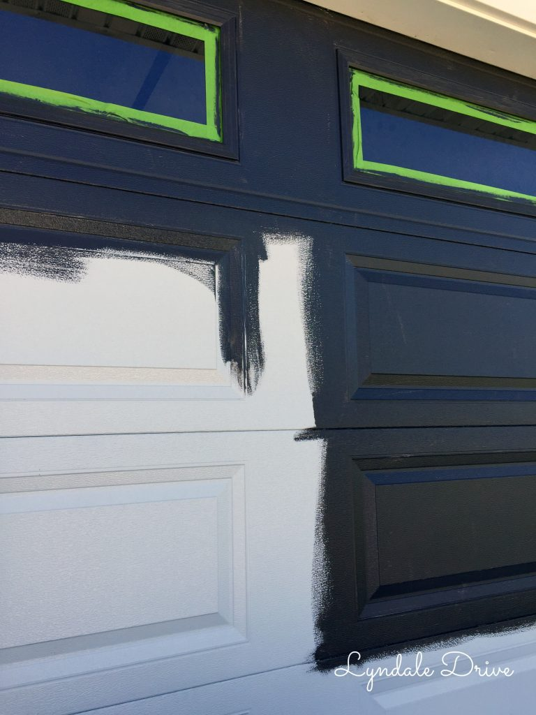 Got Paint Painting Garage Door