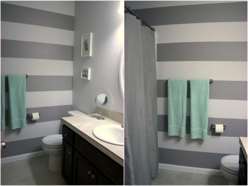Gray Bathroom Decor Wall Paint Ideas Popular