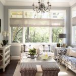 Gray Blue Paint Colors Cottage Living Room Benjamin Moore Wickham Martha