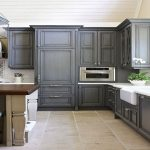 Gray Painted Kitchen Cabinets Charcoal