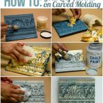 Great Chalk Paint Techniques Carved Surfaces