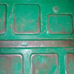 Green Painted Metal Flat Textures High Texture