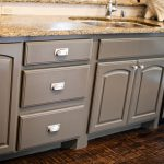 Grey Kitchen Cabinets Transitional Sherwin Williams Porpoise Gypsy Soul