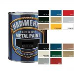 Hammerite Direct Rust Metal Paint All Colours Hammered Smooth Satin