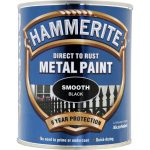Hammerite Metal Paint Smooth Black