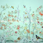 Hand Painted Chinoiserie Home Improvement